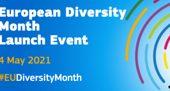 Participate in the launch event of the European Diversity Month on 4 May