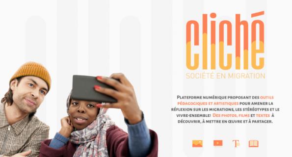 Presentation of CLICHÉ, a digital platform on migration and living together