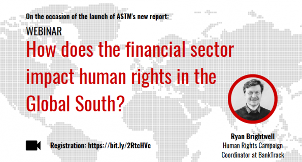 Impact of the financial sector on human rights: a webinar by Action Solidarité Tiers Monde