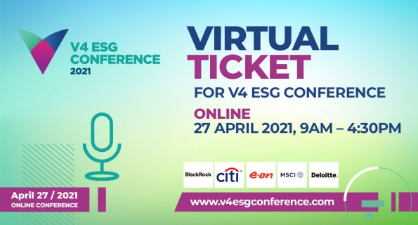 The First V4 ESG Conference to be Held Online